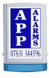 A.P.P. Alarms bell box cover
